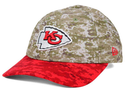 Kansas City Chiefs New Era NFL 2015 Women's Salute to Service 9TWENTY Cap