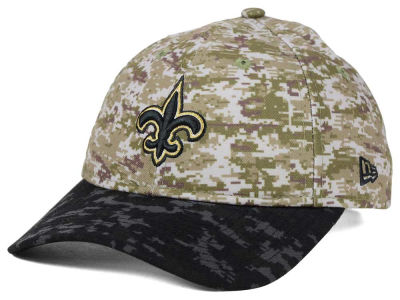New Orleans Saints New Era NFL 2015 Women's Salute to Service 9TWENTY Cap