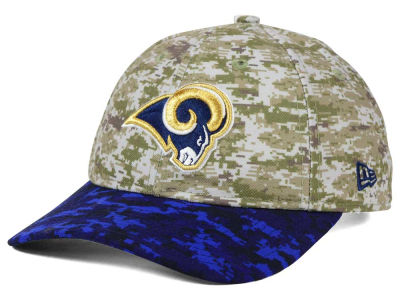 Los Angeles Rams New Era NFL 2015 Women's Salute to Service 9TWENTY Cap