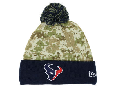 Houston Texans New Era NFL 2015 Salute to Service Knit