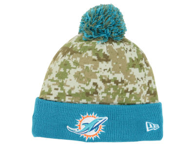 Miami Dolphins New Era NFL 2015 Salute to Service Knit