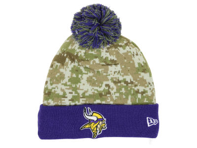 Minnesota Vikings New Era NFL 2015 Salute to Service Knit