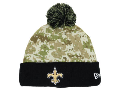 New Orleans Saints New Era NFL 2015 Salute to Service Knit