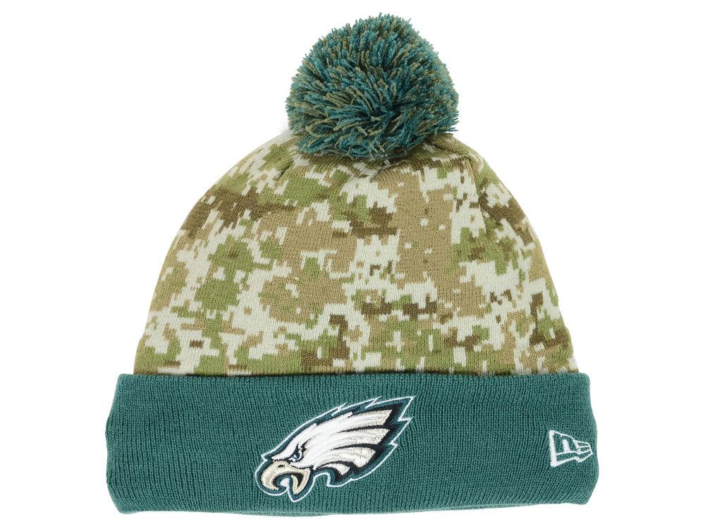 Philadelphia Eagles New Era Nfl 2015 Salute To Service Knit