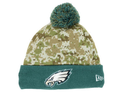 Philadelphia Eagles New Era NFL 2015 Salute to Service Knit