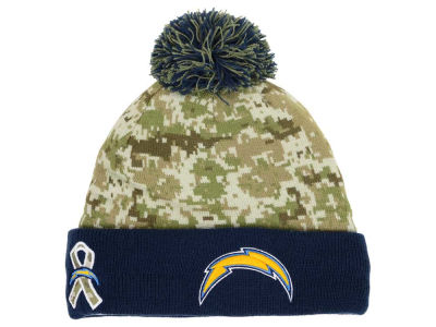 San Diego Chargers New Era NFL 2015 Salute to Service Knit