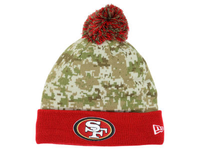 San Francisco 49ers New Era NFL 2015 Salute to Service Knit