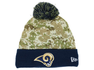 Los Angeles Rams New Era NFL 2015 Salute to Service Knit