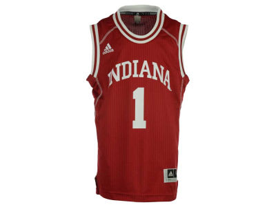 Indiana Hoosiers #1 adidas NCAA Youth Replica Basketball Jersey