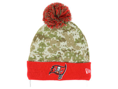 Tampa Bay Buccaneers New Era NFL 2015 Salute to Service Knit