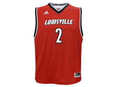 Louisville Cardinals #2 adidas NCAA Youth Replica Basketball Jersey