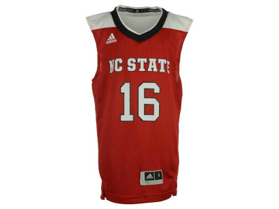 North Carolina State Wolfpack #16 adidas NCAA Youth Replica Basketball Jersey