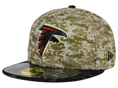 Atlanta Falcons New Era NFL 2015 Salute to Service 59FIFTY Cap