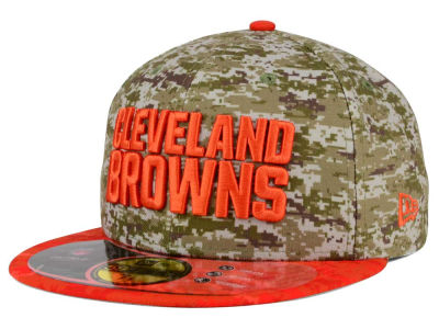 Cleveland Browns New Era NFL 2015 Salute to Service 59FIFTY Cap