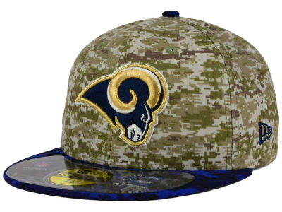 Los Angeles Rams New Era NFL 2015 Salute to Service 59FIFTY Cap