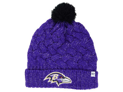 Baltimore Ravens '47 NFL Women's '47 Fiona Pom Knit