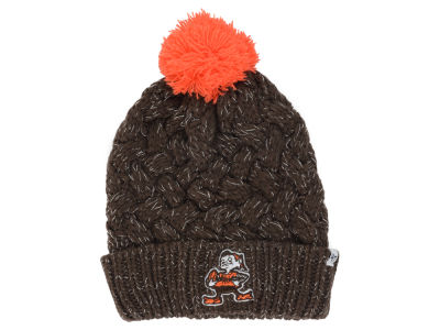 Cleveland Browns NFL Women's '47 Fiona Pom Knit