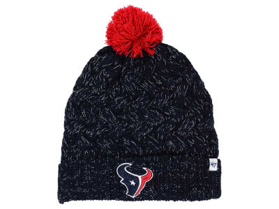 Houston Texans '47 NFL Women's '47 Fiona Pom Knit