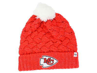 Kansas City Chiefs '47 NFL Women's '47 Fiona Pom Knit