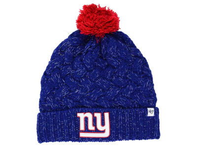 New York Giants '47 NFL Women's '47 Fiona Pom Knit