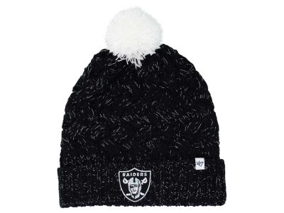 Oakland Raiders '47 NFL Women's '47 Fiona Pom Knit