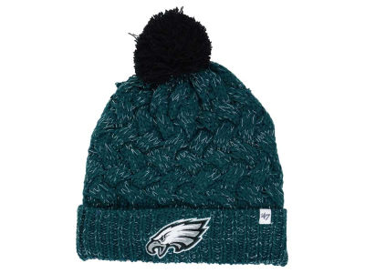 Philadelphia Eagles '47 NFL Women's '47 Fiona Pom Knit