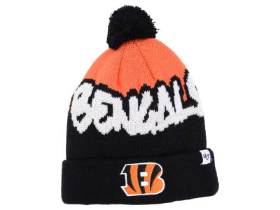 Cincinnati Bengals '47 NFL Youth Underdog Pom Knit