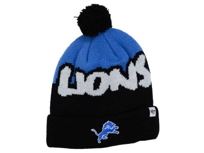 Detroit Lions '47 NFL Youth Underdog Pom Knit