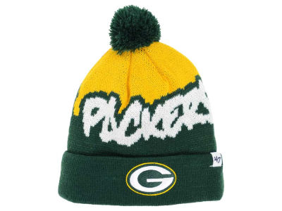 Green Bay Packers '47 NFL Youth Underdog Pom Knit