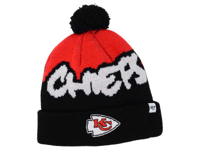 Kansas City Chiefs '47 NFL Youth Underdog Pom Knit