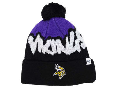 Minnesota Vikings '47 NFL Youth Underdog Pom Knit
