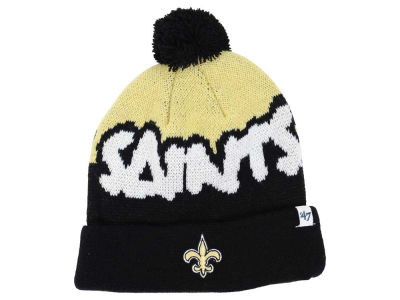 New Orleans Saints '47 NFL Youth Underdog Pom Knit
