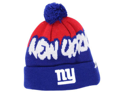 New York Giants '47 NFL Youth Underdog Pom Knit