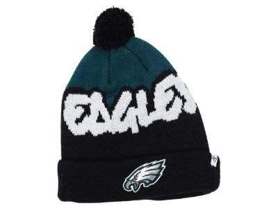 Philadelphia Eagles '47 NFL Youth Underdog Pom Knit