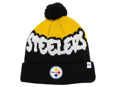 Pittsburgh Steelers '47 NFL Youth Underdog Pom Knit