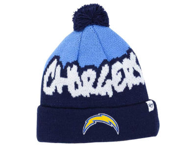 Los Angeles Chargers '47 NFL Youth Underdog Pom Knit