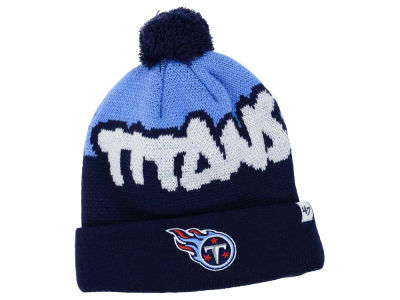 Tennessee Titans '47 NFL Youth Underdog Pom Knit