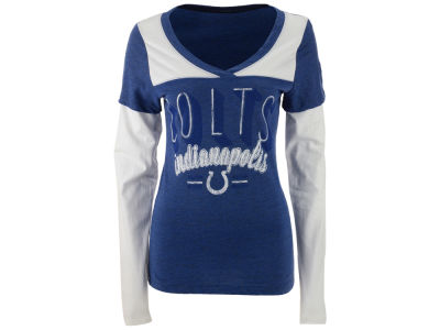 Indianapolis Colts NFL Women's XP Long Sleeve Tri Layered II T-Shirt