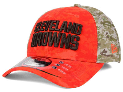 Cleveland Browns New Era NFL 2015 Salute to Service 39THIRTY Cap