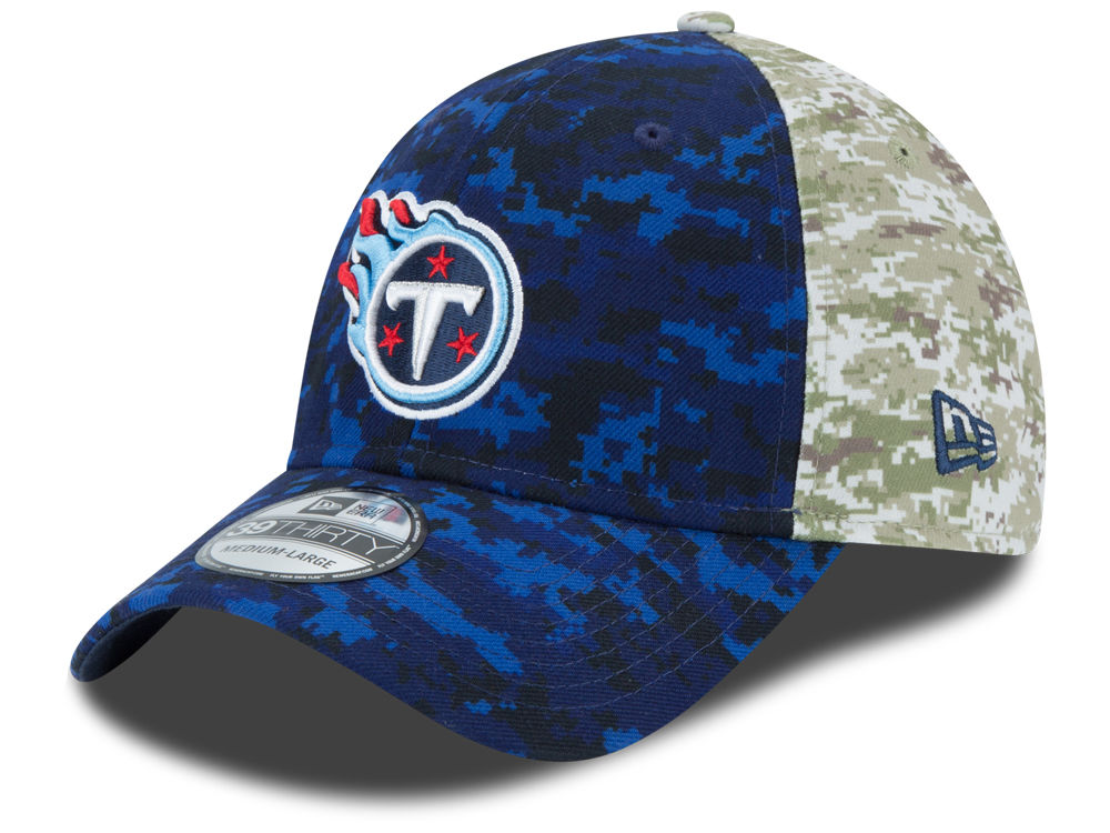 a6df1d487 Tennessee Titans New Era NFL 2015 Salute to Service 39THIRTY Cap ...