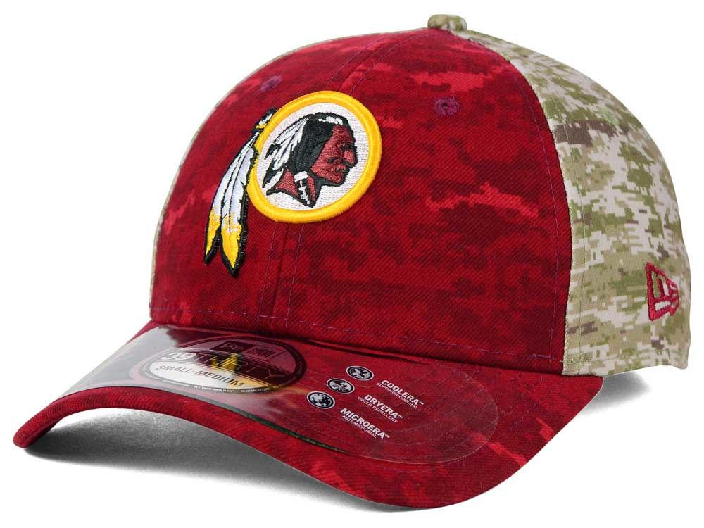 Washington Redskins New Era NFL 2015 Salute to Service 39THIRTY Cap ... 69b729c35