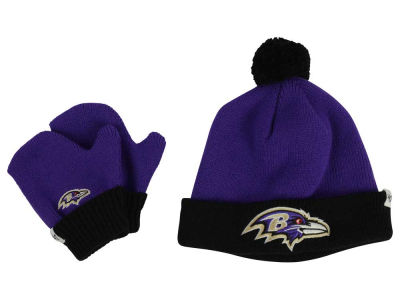 Baltimore Ravens '47 NFL Toddler '47 Bam Bam Knit Set
