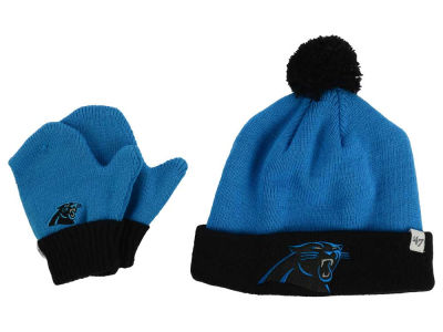 Carolina Panthers '47 NFL Toddler '47 Bam Bam Knit Set
