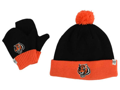 Cincinnati Bengals '47 NFL Toddler '47 Bam Bam Knit Set