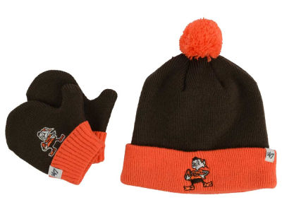 Cleveland Browns '47 NFL Toddler '47 Bam Bam Knit Set