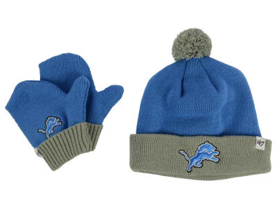Detroit Lions '47 NFL Toddler '47 Bam Bam Knit Set