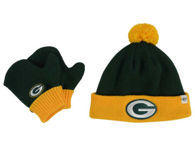 Green Bay Packers '47 NFL Toddler '47 Bam Bam Knit Set