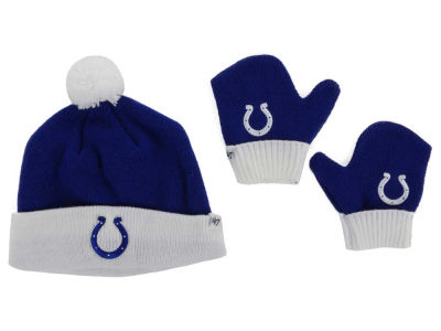 Indianapolis Colts '47 NFL Toddler '47 Bam Bam Knit Set