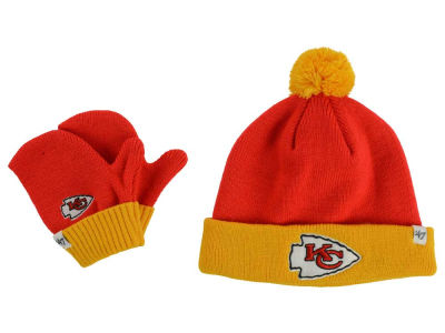Kansas City Chiefs '47 NFL Toddler '47 Bam Bam Knit Set