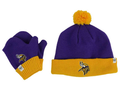 Minnesota Vikings '47 NFL Toddler '47 Bam Bam Knit Set